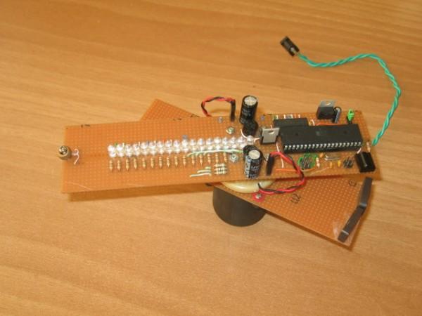 Dispozitivul asamblat