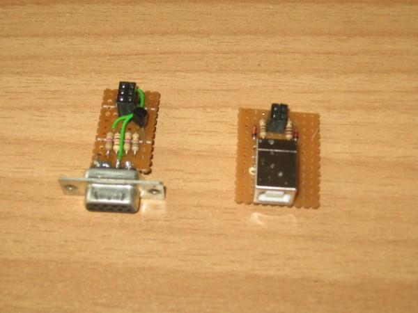 Placutele de extensie (programare SPI si programare USB)