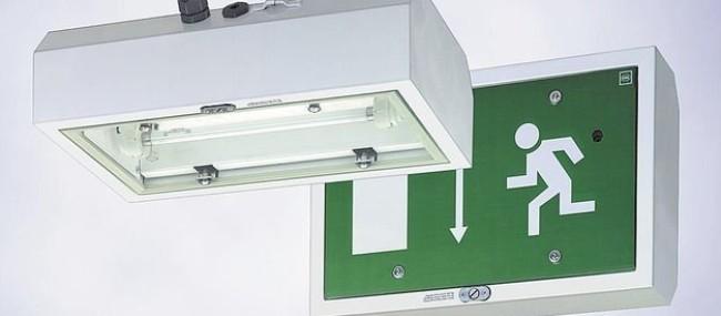 Lampă de semnalizare (Iluminat de urgență)