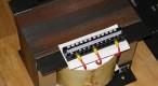 Proiectarea transformatorului de retea 230V (E+I)