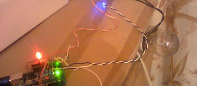 Variator de tensiune pentru bec cu Arduino (III)