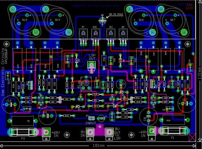 cablaj-amplificator-de-putere-300w