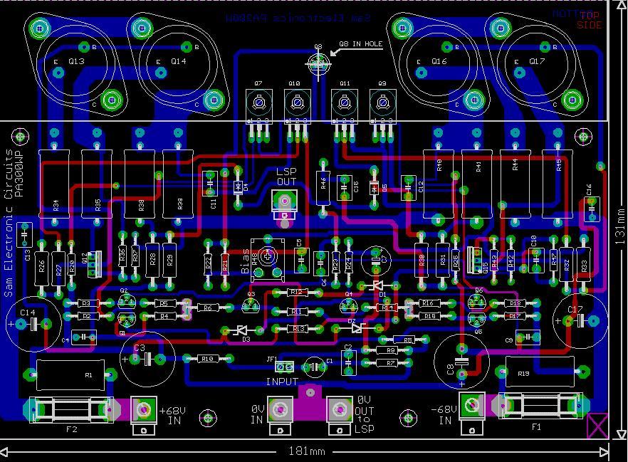Amplificator Audio Mono De Mare Putere 300w Electrodb Ro