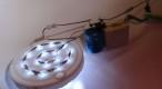 Bec cu LED-uri legate în serie la 230V