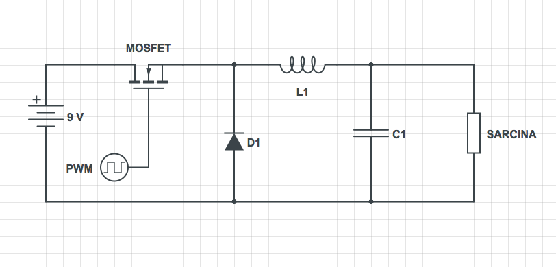 Dc-dc buck converter circuit diagram how to step down dc voltage.