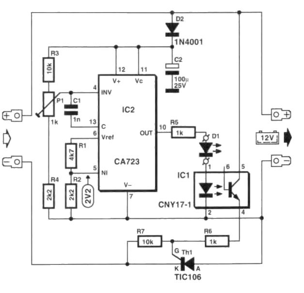 Schema Electrica Pentru Incarcator Acumulatori Auto