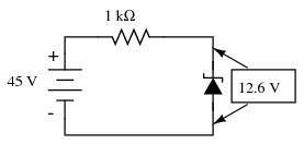 Dioda Zener - principii şi aplicații Utilizare diodă zener