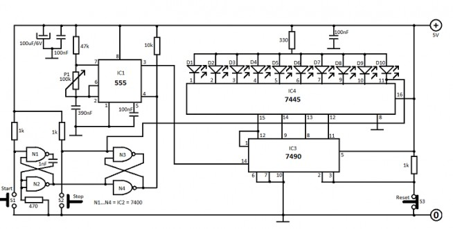 reflex-tester-circuit-diagram